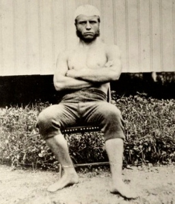 Above: Theodore Roosevelt at Age 19