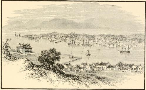 Amoy (Xiamen) from Kulangseu, 1885