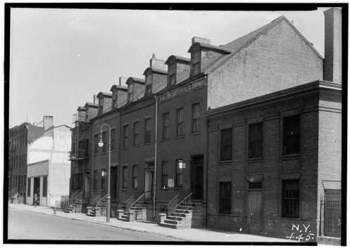 Cherry Street, Manhattan, 1936