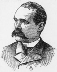 Above: Dr. Edward Bedloe, in The Pacific commercial advertiser., January 22, 1892.