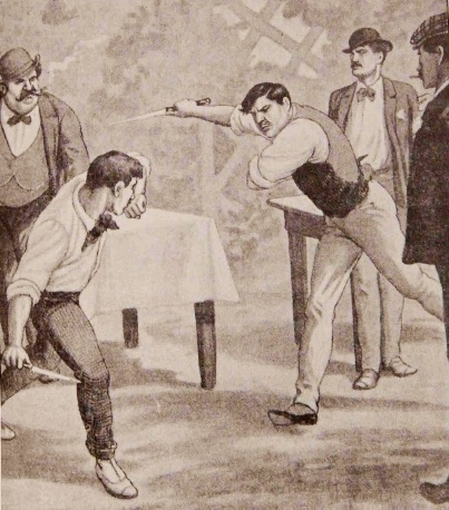 Above: A knife duel between Italians. Source: http://www.kalisilat.it/SMART_VERSION/pagine_EN/history_IMC_EN.html