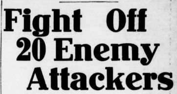 Above: Headlines in the Tacoma Times, May 20, 1918