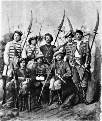 Polish scythemen in the later uprising of 1863