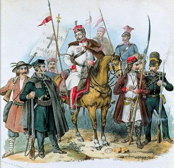Polish insurgents of the Uprising 1831