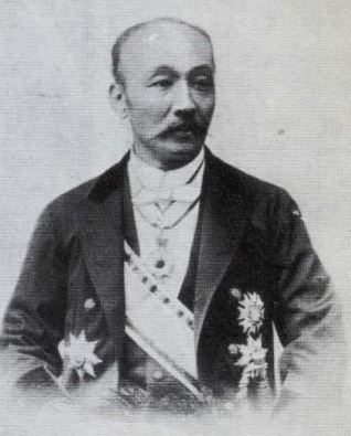 Baron Sannomiya Yoshitane, Master of Ceremonies of the Imperial Household.