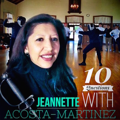 Jeannette Acosta-Martinez Fencing