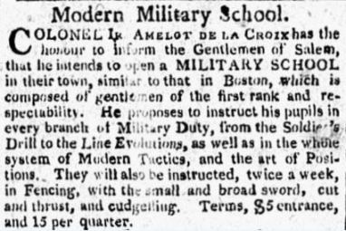 June 20, 1809, Salem Gazette