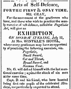 American and Commercial Daily Advertiser, July 12, 1813