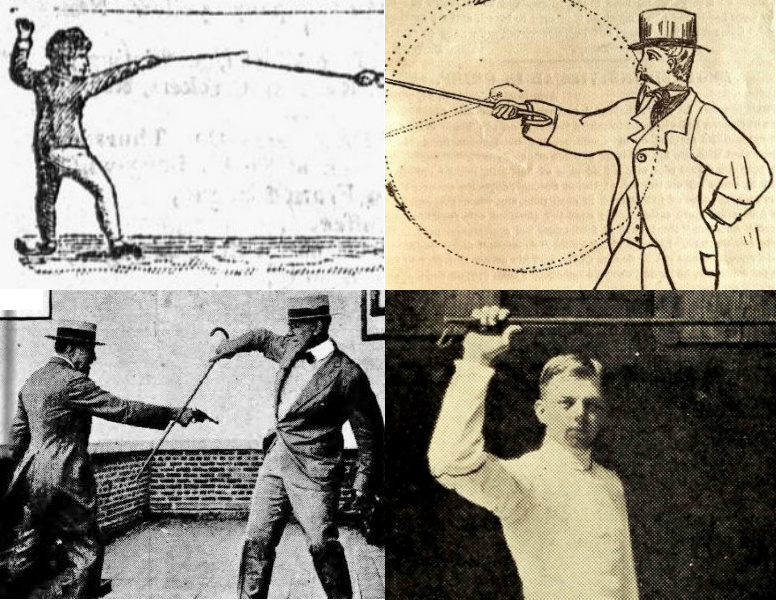 A History Of Cane Self Defense In America 1798 1930